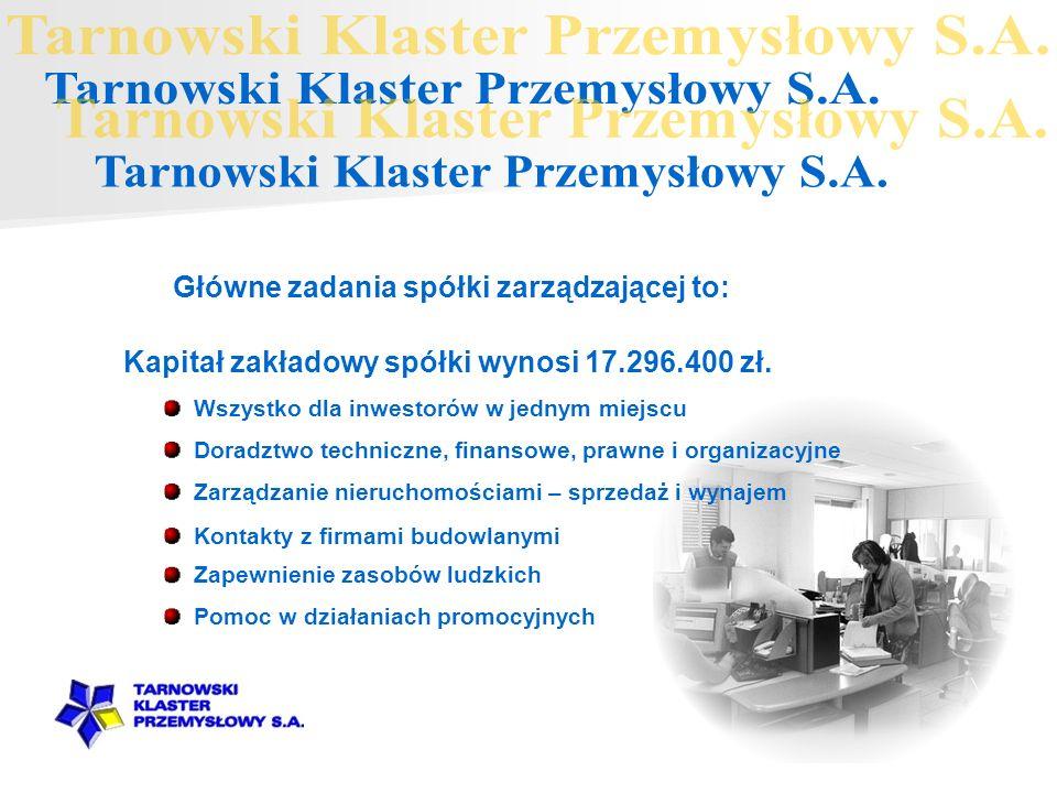 Tarnowski Klaster Przemysłowy S.A. Tarnowski Klaster Przemysłowy S.A.