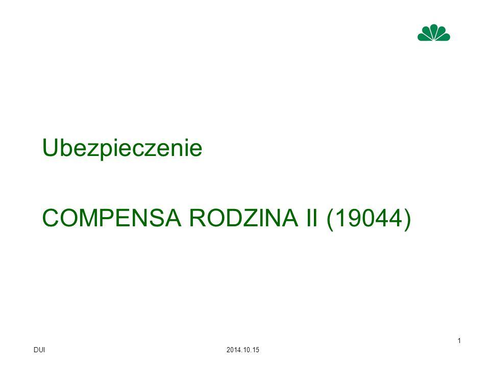 Ubezpieczenie COMPENSA RODZINA II (19044)