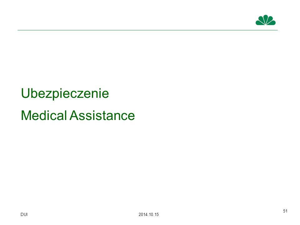 Ubezpieczenie Medical Assistance 51