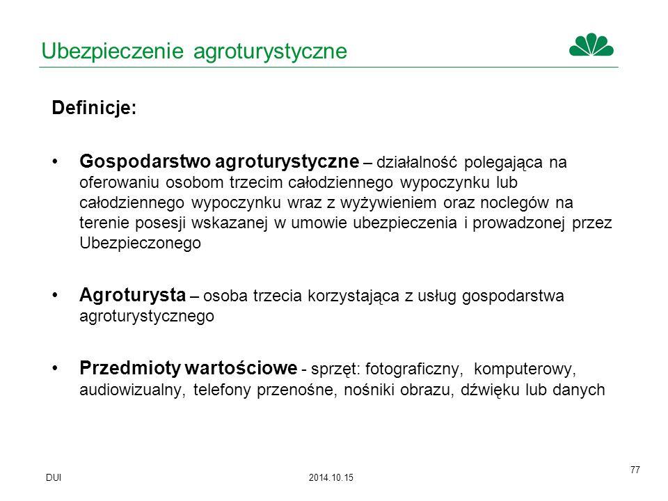 Ubezpieczenie agroturystyczne