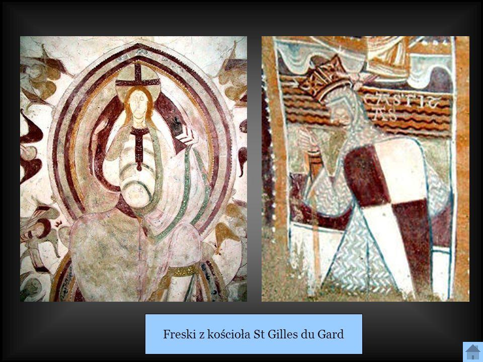 Freski z kościoła St Gilles du Gard