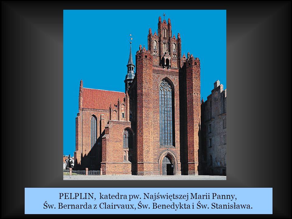 PELPLIN, katedra pw. Najświętszej Marii Panny,