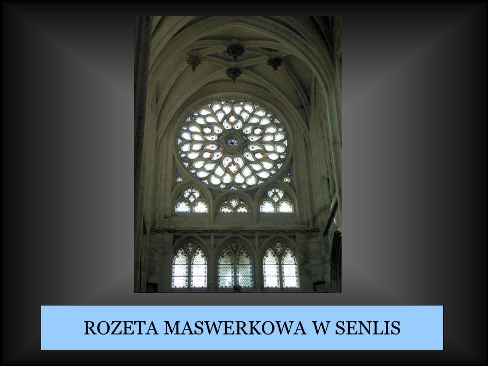 ROZETA MASWERKOWA W SENLIS
