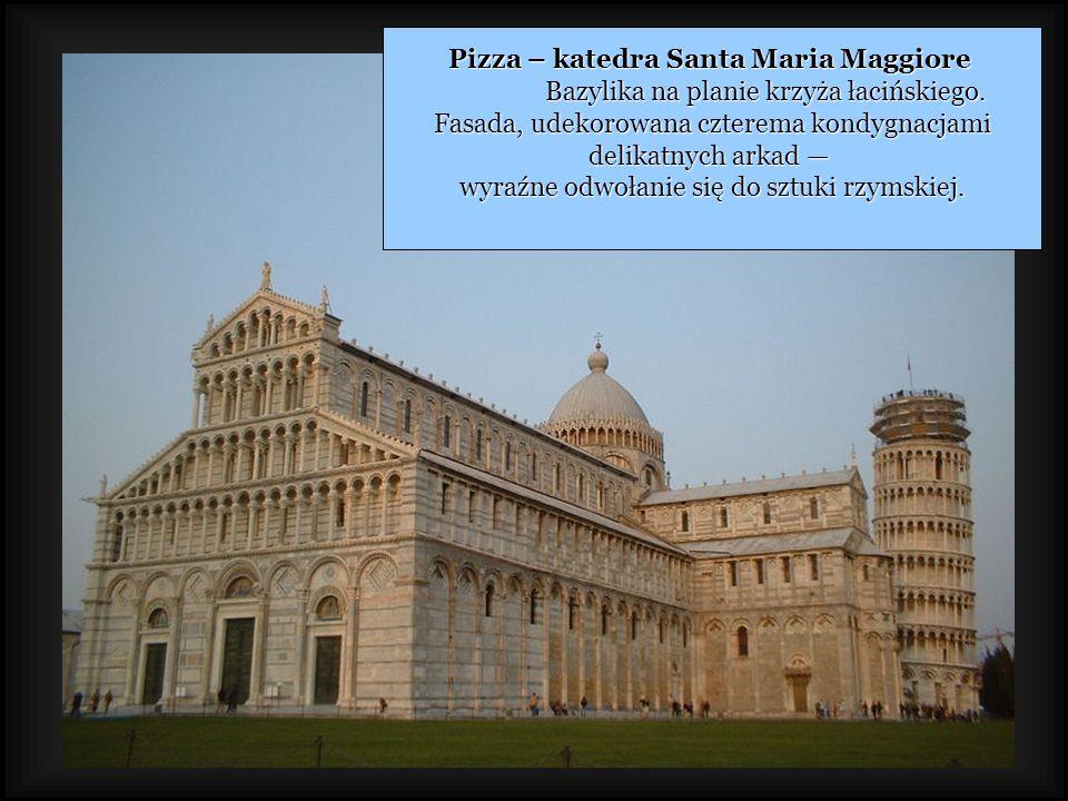 Pizza – katedra Santa Maria Maggiore