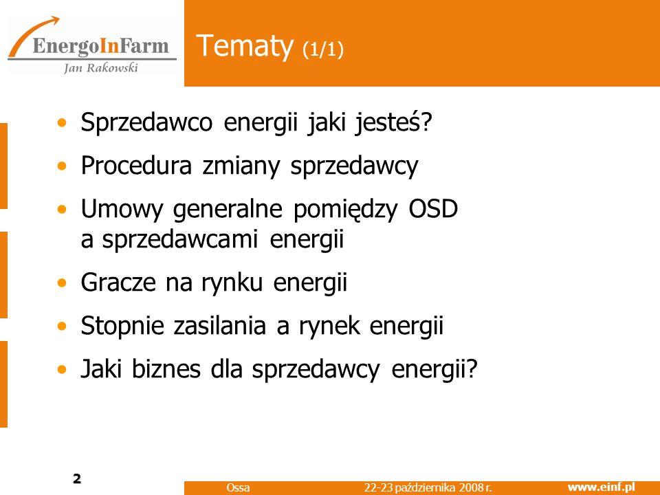 Tematy (1/1) Sprzedawco energii jaki jesteś