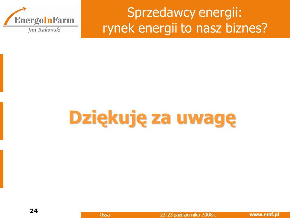 Sprzedawcy energii: rynek energii to nasz biznes