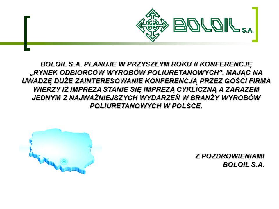 BOLOIL S.A. PLANUJE W PRZYSZŁYM ROKU II KONFERENCJĘ