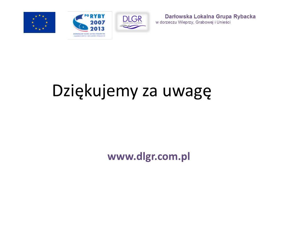 Dziękujemy za uwagę www.dlgr.com.pl