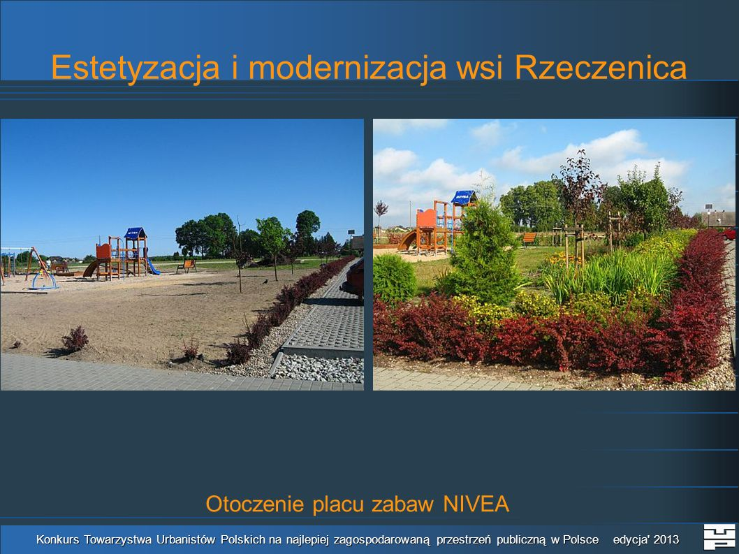 Estetyzacja i modernizacja wsi Rzeczenica