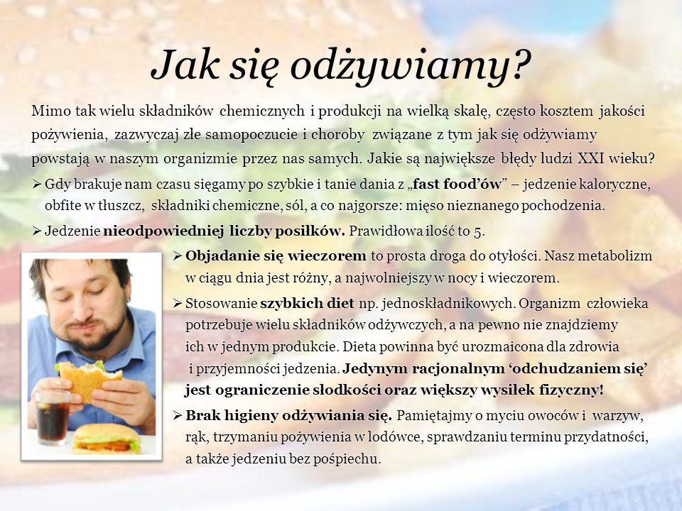 Jak się odżywiamy