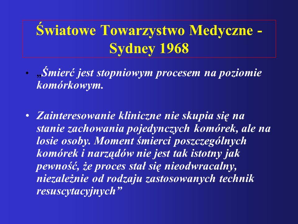 Światowe Towarzystwo Medyczne - Sydney 1968