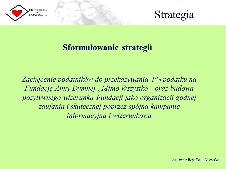Sformułowanie strategii