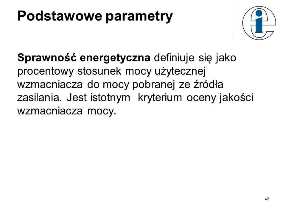 Podstawowe parametry
