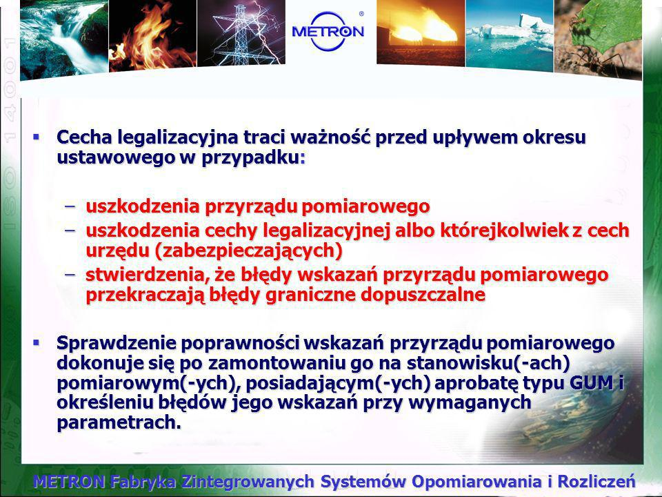 Cecha legalizacyjna traci ważność przed upływem okresu ustawowego w przypadku: