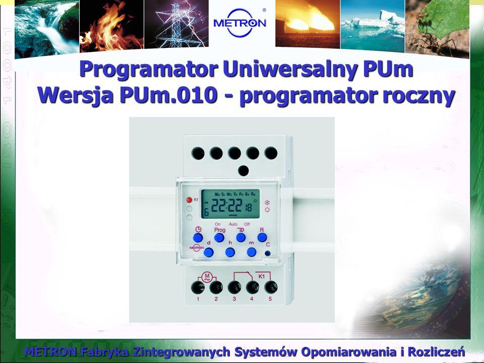 Programator Uniwersalny PUm Wersja PUm.010 - programator roczny