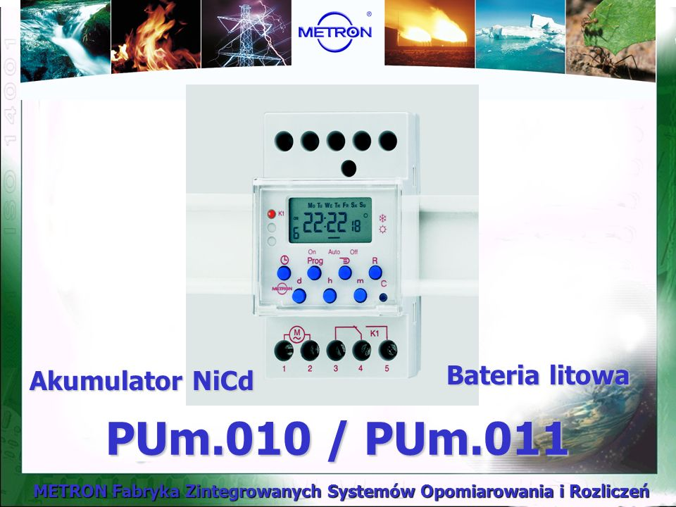 Bateria litowa Akumulator NiCd PUm.010 / PUm.011