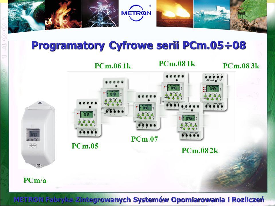 Programatory Cyfrowe serii PCm.05÷08