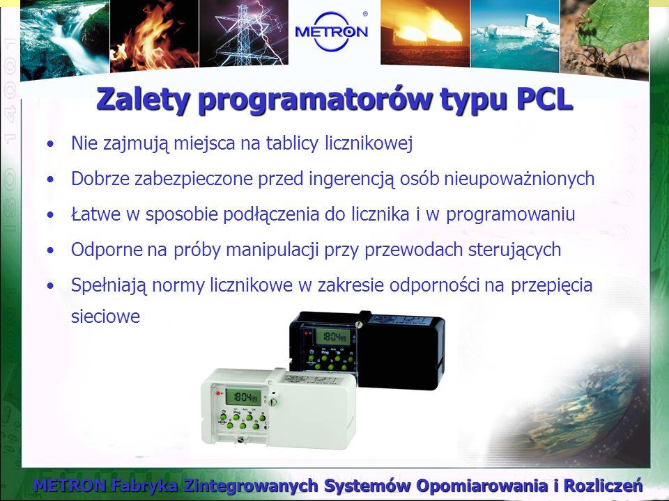 Zalety programatorów typu PCL
