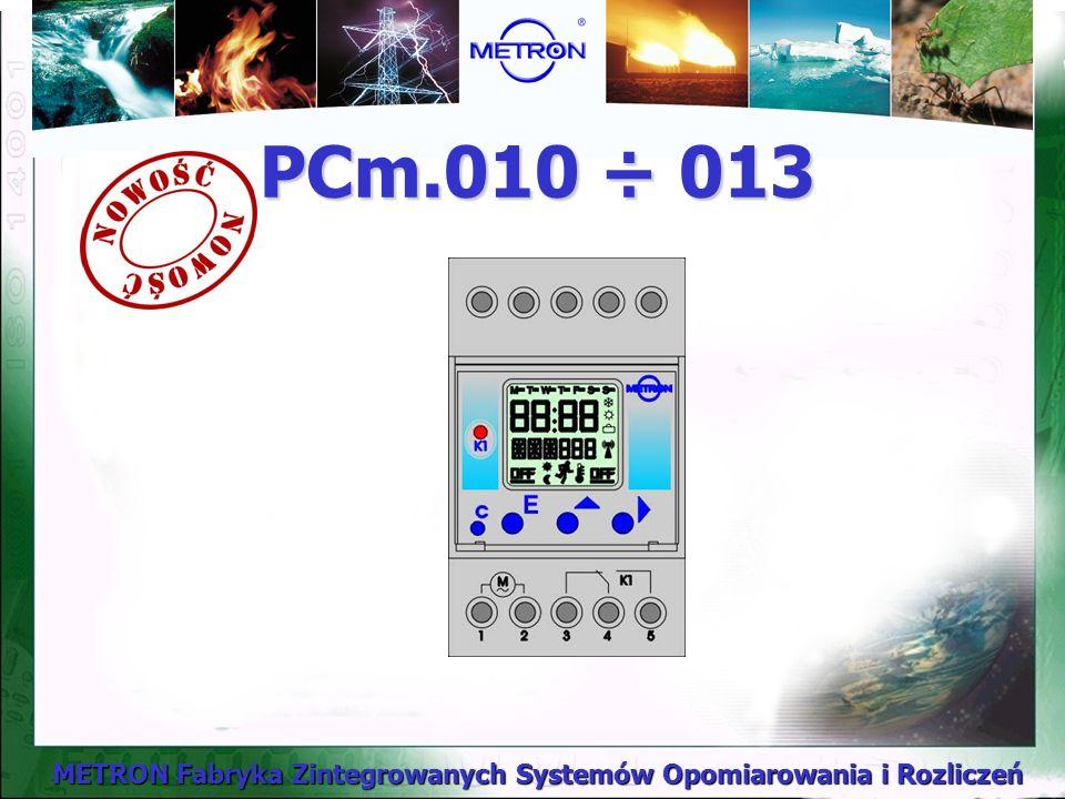 PCm.010 ÷ 013
