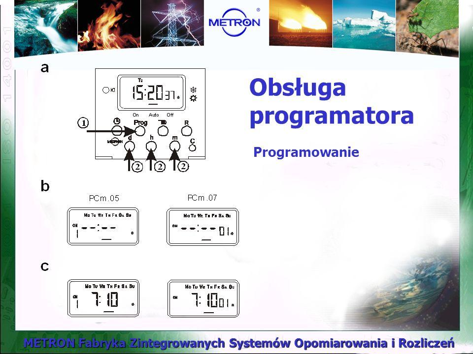 Obsługa programatora Programowanie