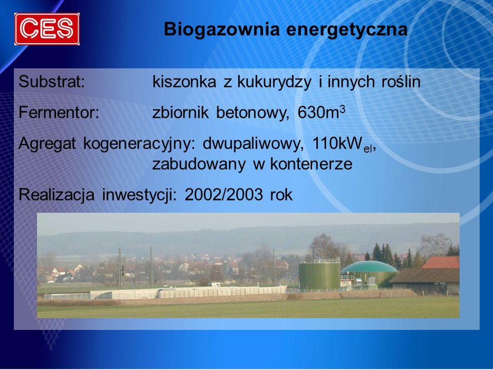 Biogazownia energetyczna