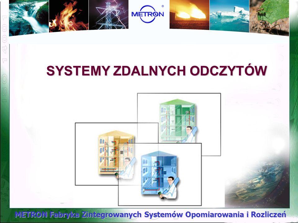 SYSTEMY ZDALNYCH ODCZYTÓW