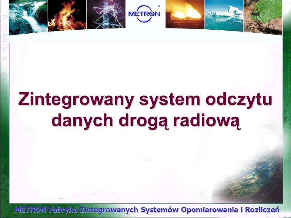 Zintegrowany system odczytu danych drogą radiową