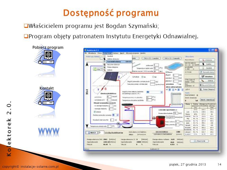 Dostępność programu www