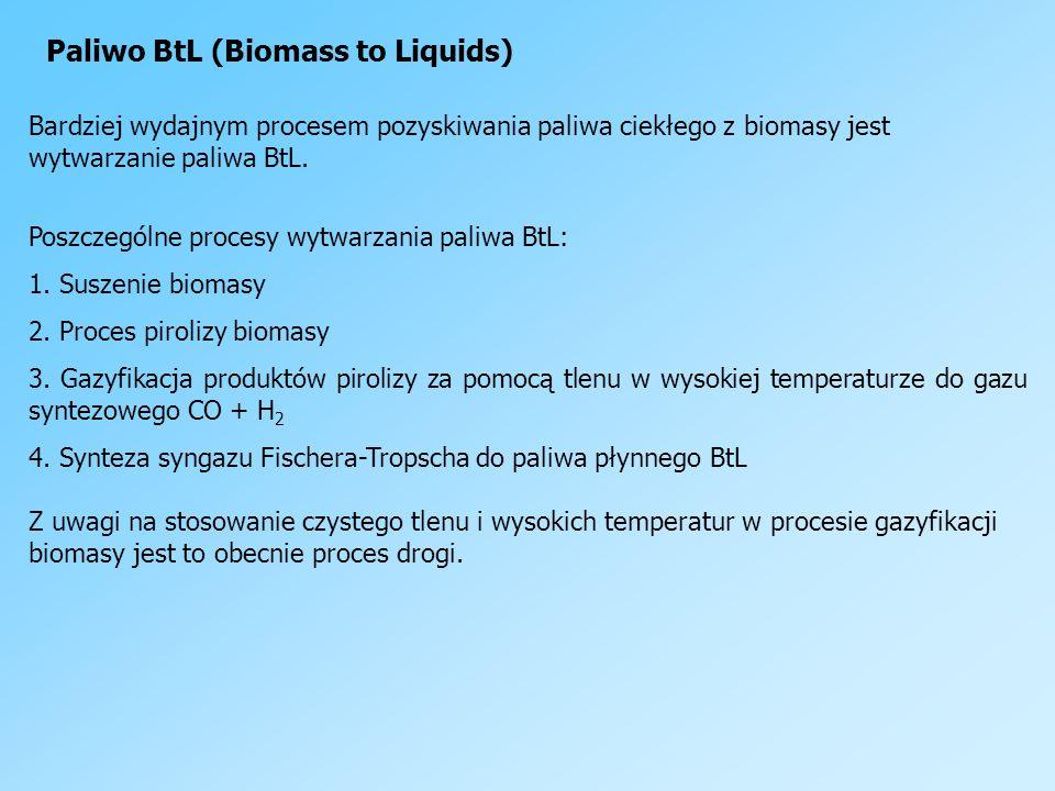 Paliwo BtL (Biomass to Liquids)