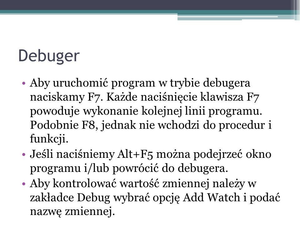 Debuger