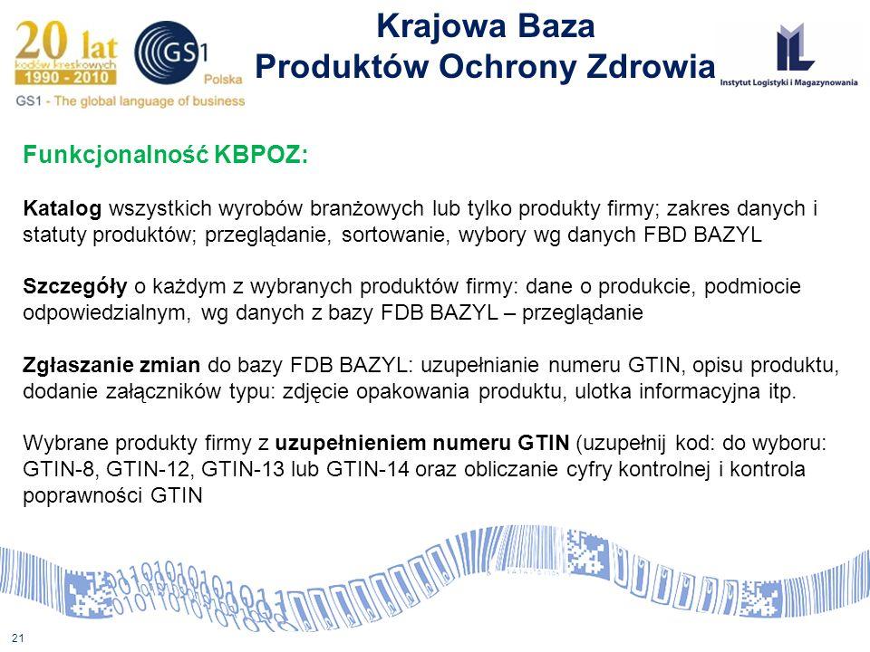 Produktów Ochrony Zdrowia