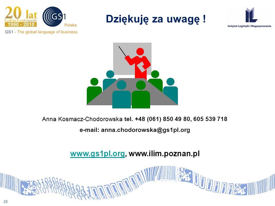 www.gs1pl.org, www.ilim.poznan.pl