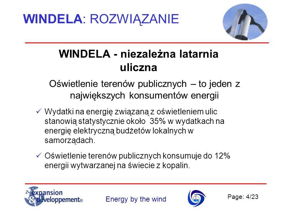 WINDELA - niezależna latarnia uliczna