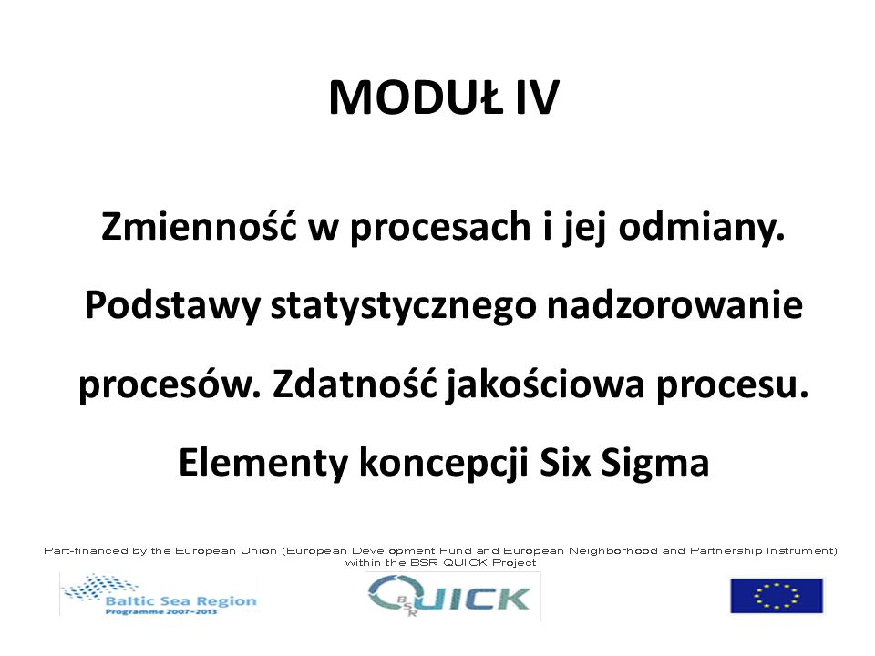 MODUŁ IV