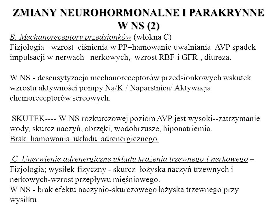 ZMIANY NEUROHORMONALNE I PARAKRYNNE W NS (2)
