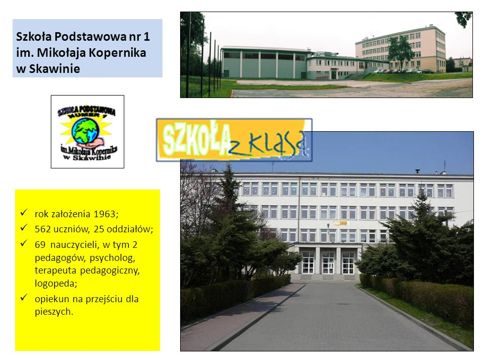 Szkoła Podstawowa nr 1 im. Mikołaja Kopernika w Skawinie