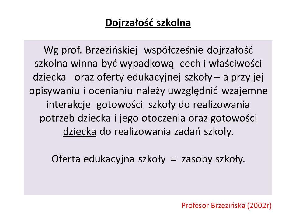 Profesor Brzezińska (2002r)