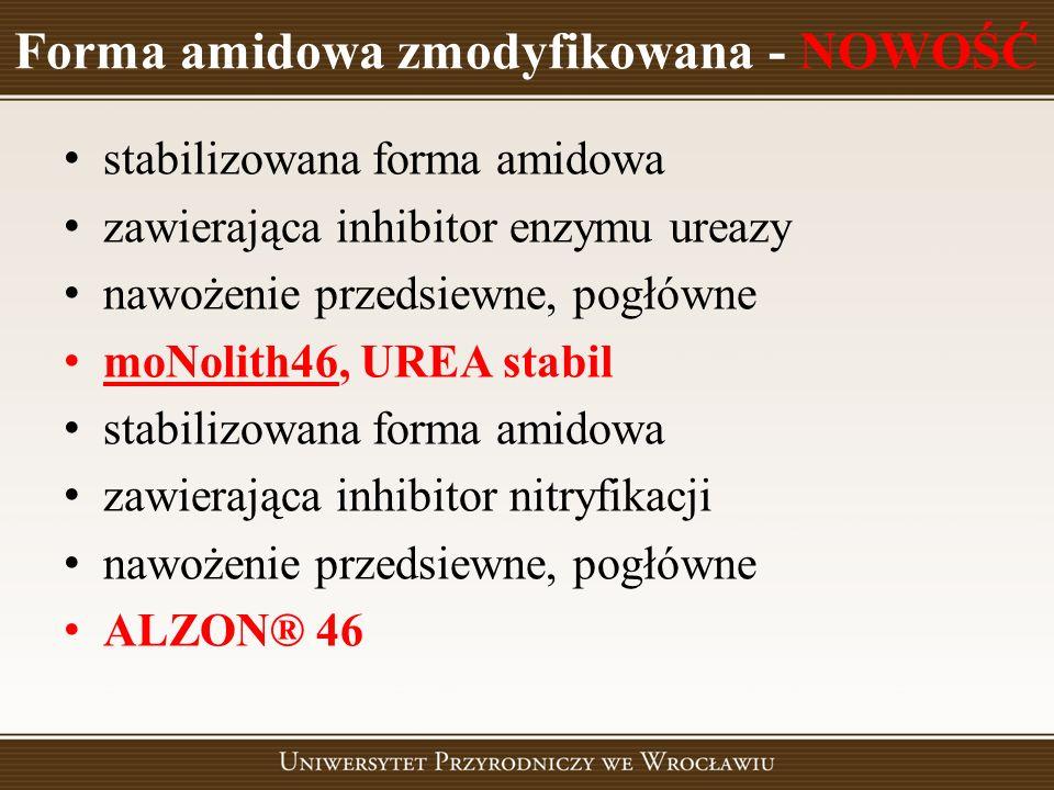 Forma amidowa zmodyfikowana - NOWOŚĆ
