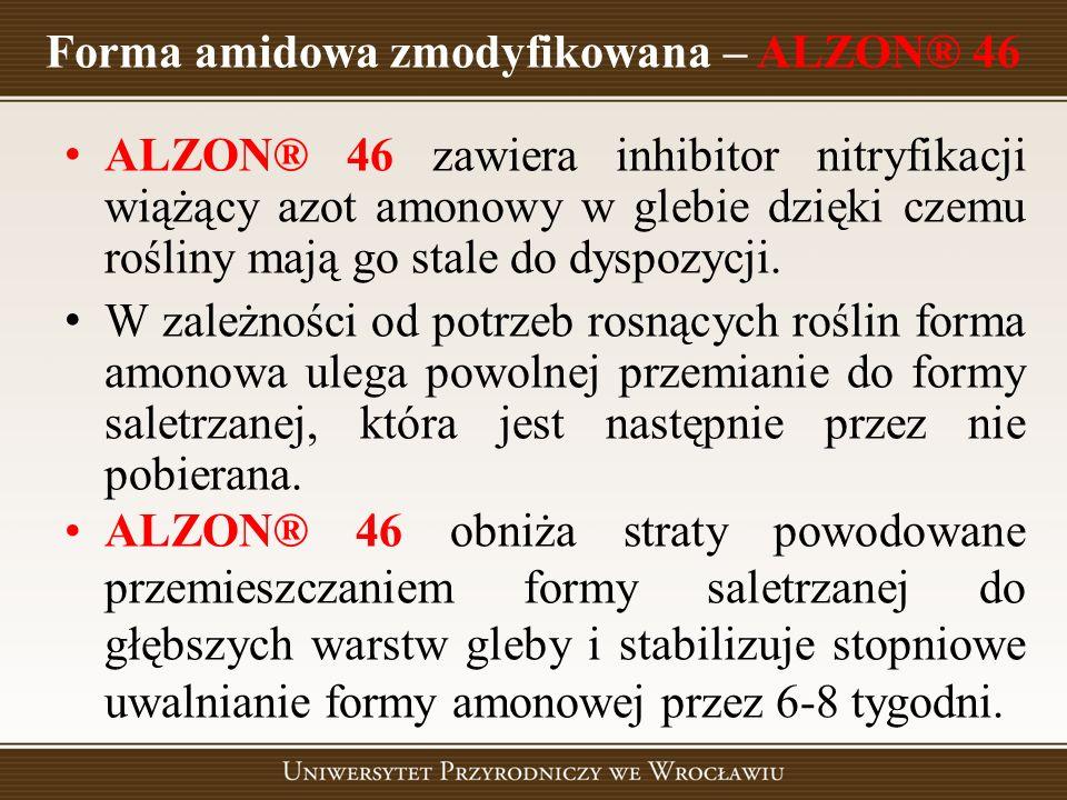 Forma amidowa zmodyfikowana – ALZON® 46