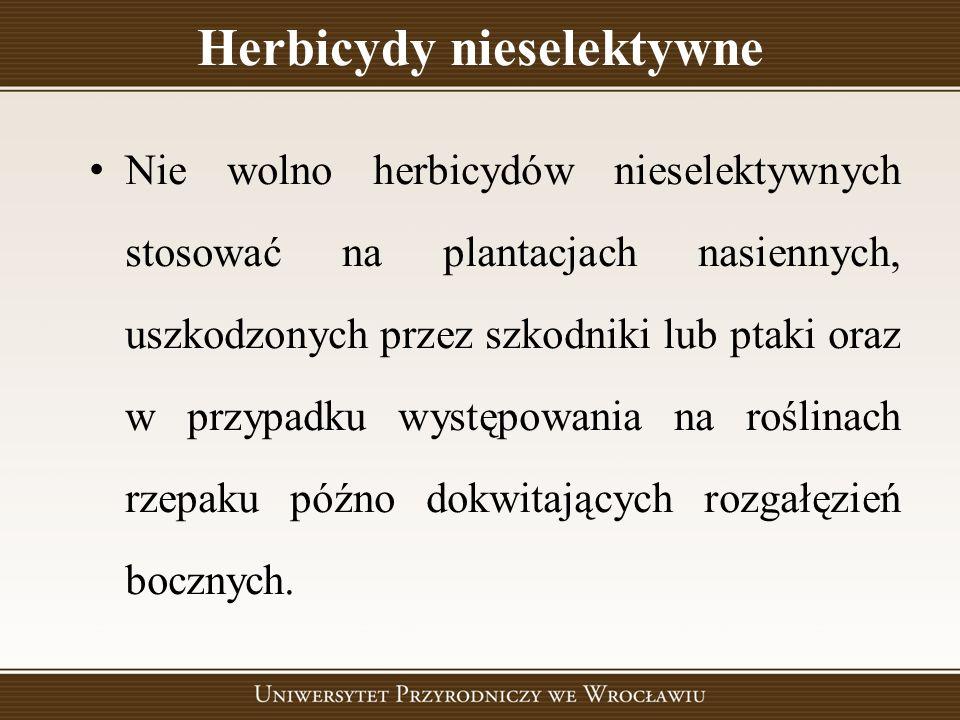 Herbicydy nieselektywne
