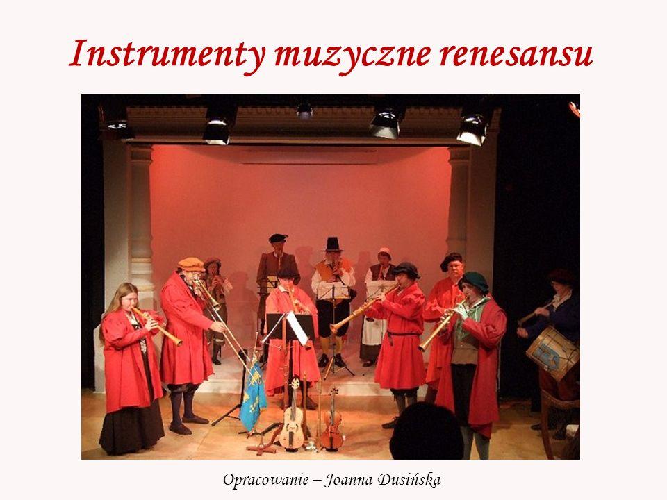 Instrumenty muzyczne renesansu