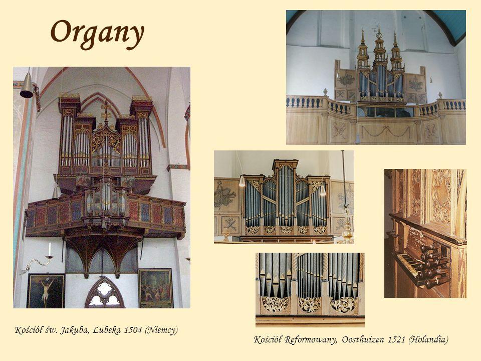 Organy Kościół św. Jakuba, Lubeka 1504 (Niemcy)