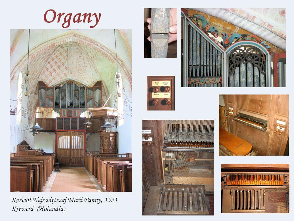 Organy Kościół Najświętszej Marii Panny, 1531 Krewerd (Holandia)