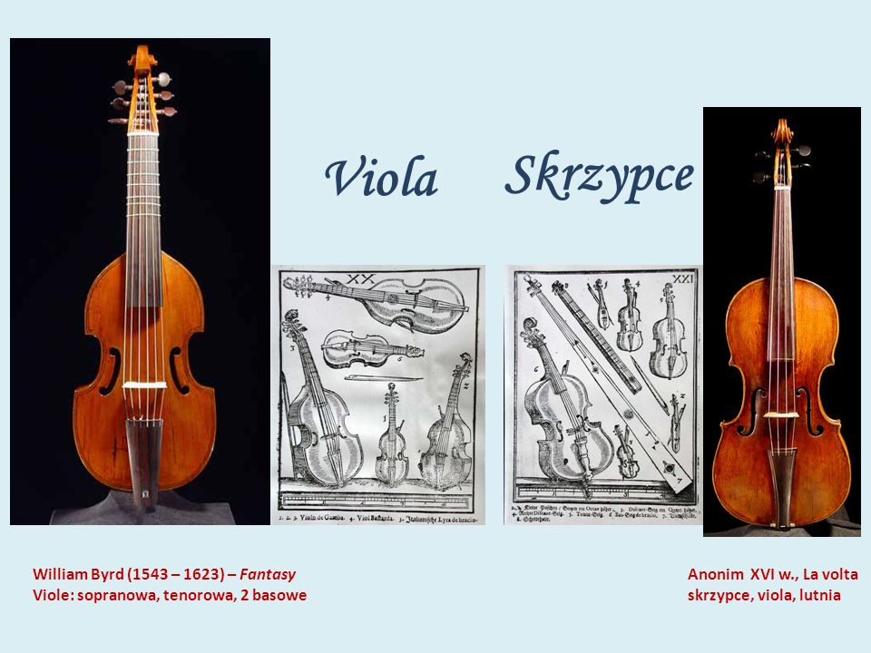 Viola Skrzypce William Byrd (1543 – 1623) – Fantasy
