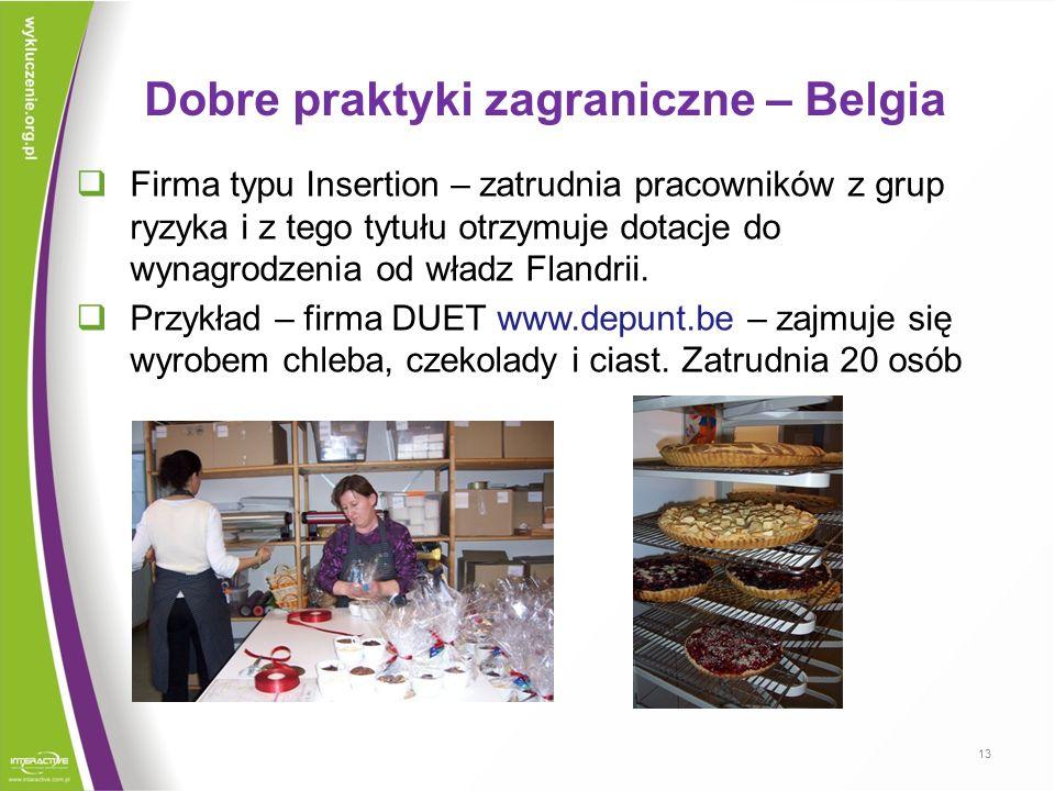Dobre praktyki zagraniczne – Belgia