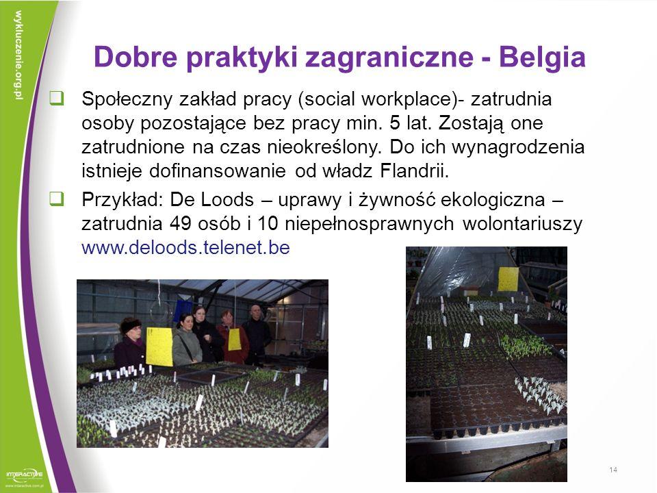 Dobre praktyki zagraniczne - Belgia