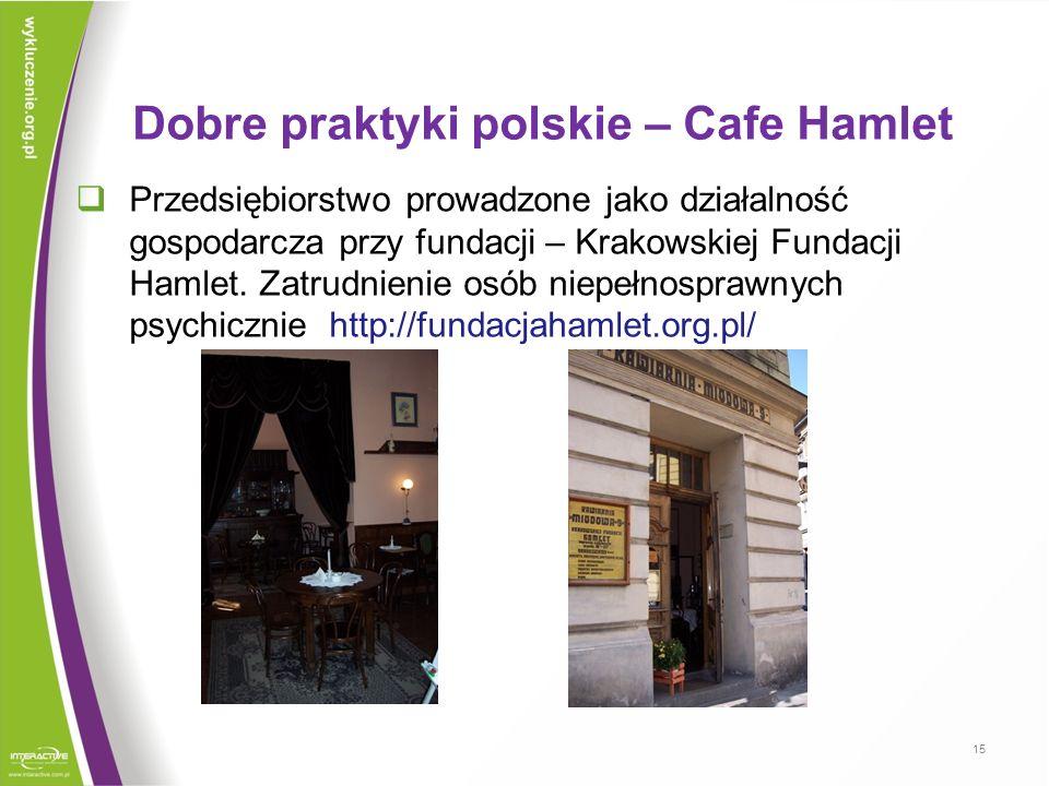 Dobre praktyki polskie – Cafe Hamlet