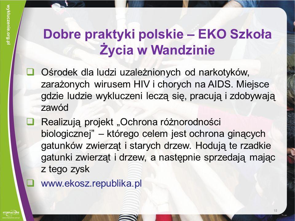 Dobre praktyki polskie – EKO Szkoła Życia w Wandzinie