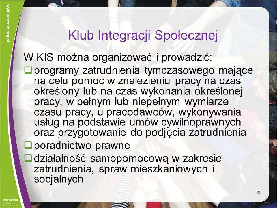 Klub Integracji Społecznej