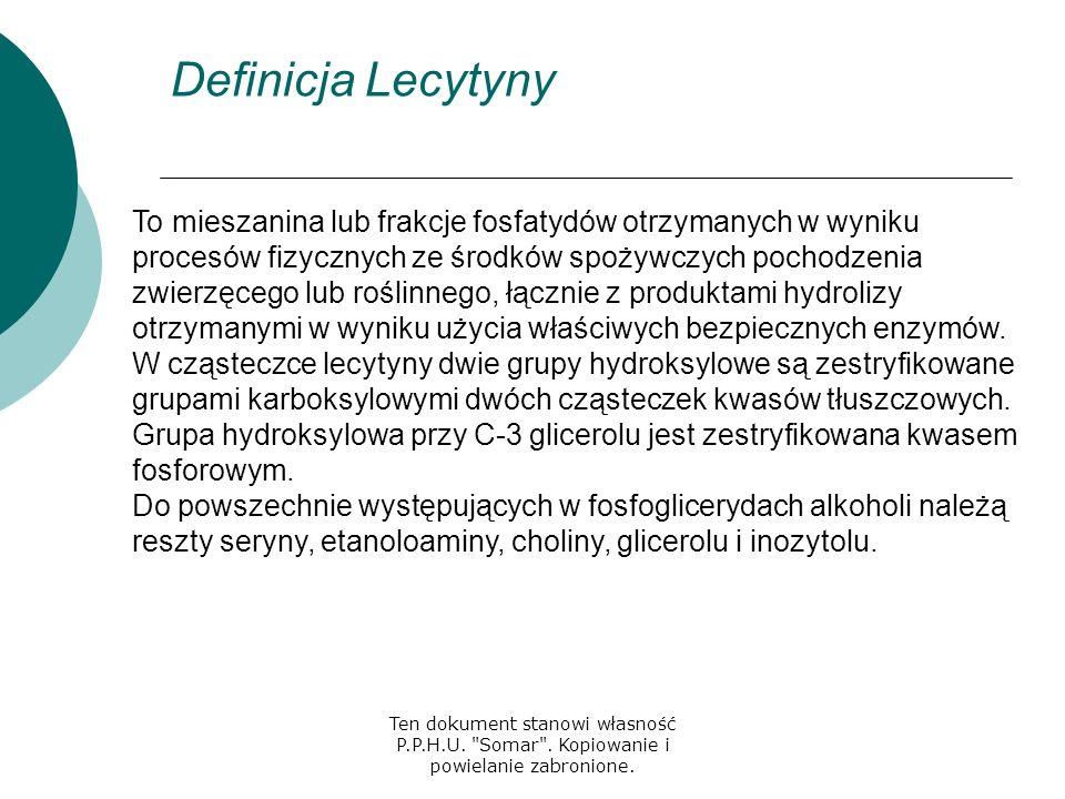 Definicja Lecytyny